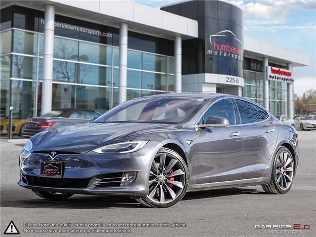 2016 Tesla Model S P100D Ludicrous Upgrade (Stk: 19MSX006) in Mississauga - Image 1 of 29