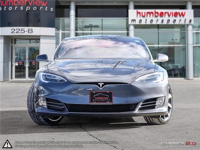2016 Tesla Model S P100D Ludicrous Upgrade (Stk: 19MSX006) in Mississauga - Image 2 of 29