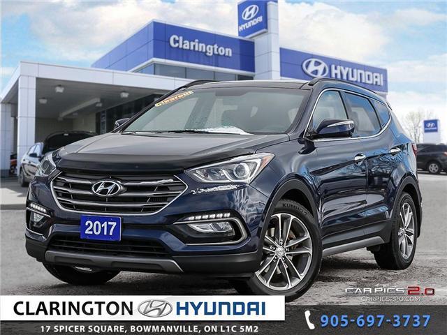 2017 Hyundai Santa Fe Sport  (Stk: U809) in Clarington - Image 1 of 27