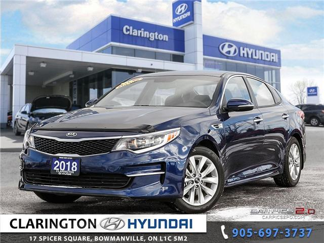 2018 Kia Optima LX+ (Stk: U811) in Clarington - Image 1 of 27