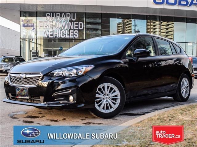 2018 Subaru Impreza Touring | AWD | RIMS | BLUETOOTH | HEATED SEATS (Stk: 18D48) in Toronto - Image 1 of 25