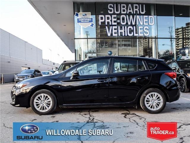 2018 Subaru Impreza Touring | AWD | RIMS | BLUETOOTH | HEATED SEATS (Stk: 18D48) in Toronto - Image 2 of 25