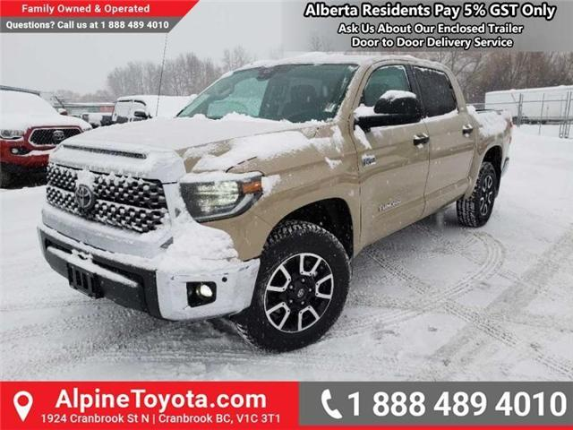 2019 Toyota Tundra TRD Offroad Package (Stk: X809250) in Cranbrook - Image 1 of 18