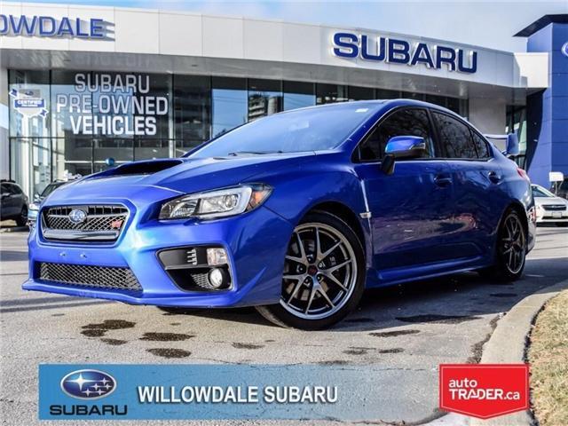 2016 Subaru WRX STI Sport-tech | PUSHBUTTON START | NAVI | SPOILER (Stk: P2672) in Toronto - Image 1 of 29