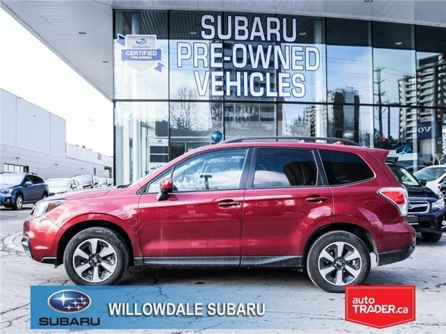 2018 Subaru Forester 2.5i Touring | SUNROOF | HEATED SEATS | BLUETOOTH (Stk: 18D56) in Toronto - Image 2 of 25