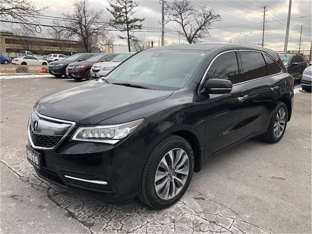 2016 Acura MDX Navigation Package (Stk: 502229T) in Brampton - Image 1 of 18