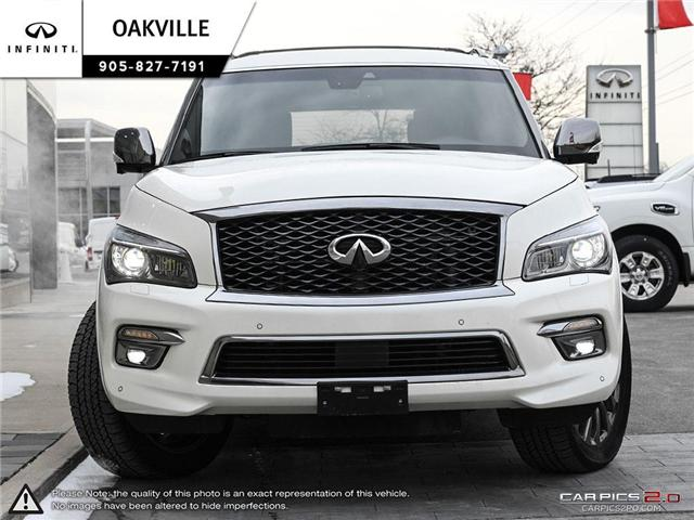 2017 Infiniti QX80 Limited 7 Passenger (Stk: QU0126) in Oakville - Image 2 of 21