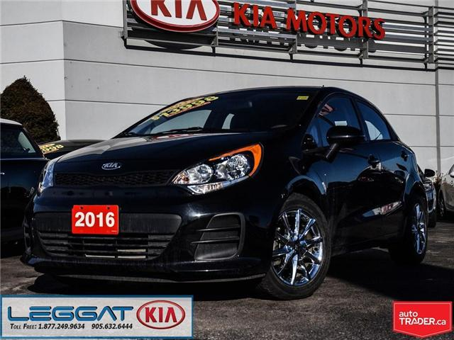 2016 Kia Rio LX+ (Stk: 2312) in Burlington - Image 1 of 25