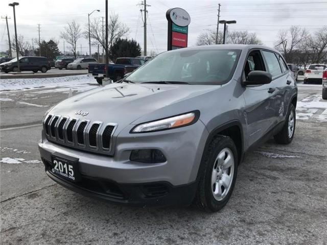 2015 Jeep Cherokee Sport (Stk: 23851P) in Newmarket - Image 1 of 20