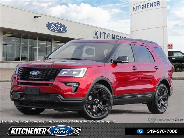 2019 Ford Explorer Sport (Stk: 9P0680) in Kitchener - Image 1 of 23