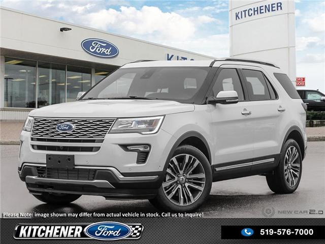 2019 Ford Explorer Platinum (Stk: 9P1400) in Kitchener - Image 1 of 23