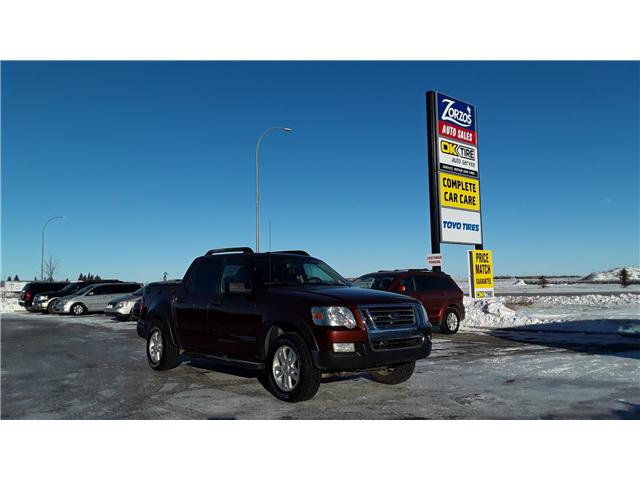 2010 Ford Explorer Sport Trac XLT (Stk: D226) in Brandon - Image 1 of 4