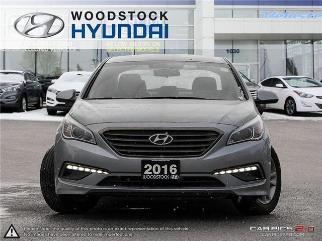 2016 Hyundai Sonata GL (Stk: EA19018A) in Woodstock - Image 2 of 27