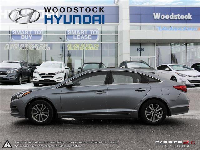 2016 Hyundai Sonata GL (Stk: EA19018A) in Woodstock - Image 3 of 27