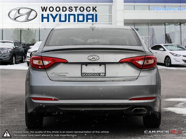 2016 Hyundai Sonata GL (Stk: EA19018A) in Woodstock - Image 5 of 27