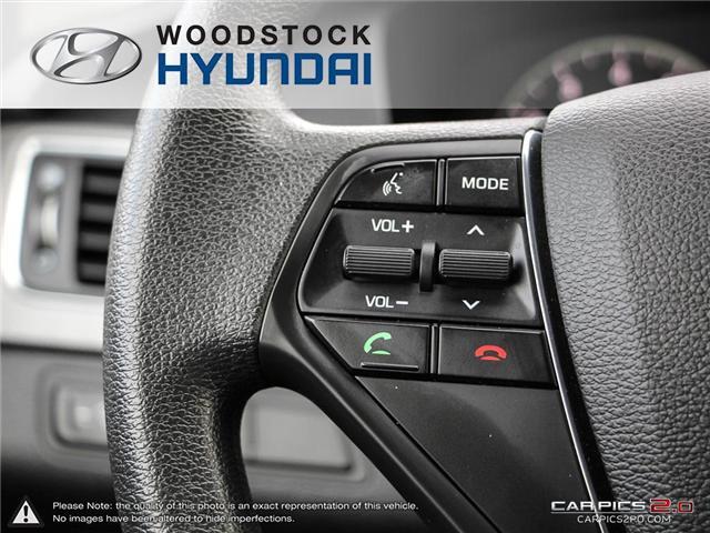 2016 Hyundai Sonata GL (Stk: EA19018A) in Woodstock - Image 11 of 27