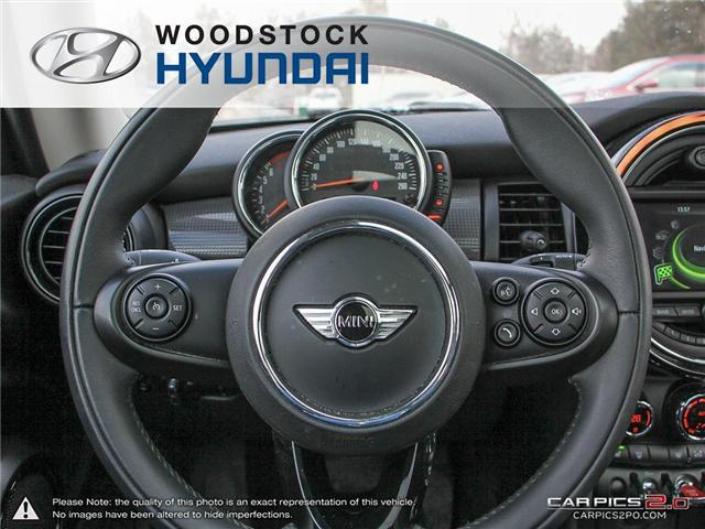 2016 MINI 3 Door Cooper (Stk: P1349) in Woodstock - Image 7 of 27