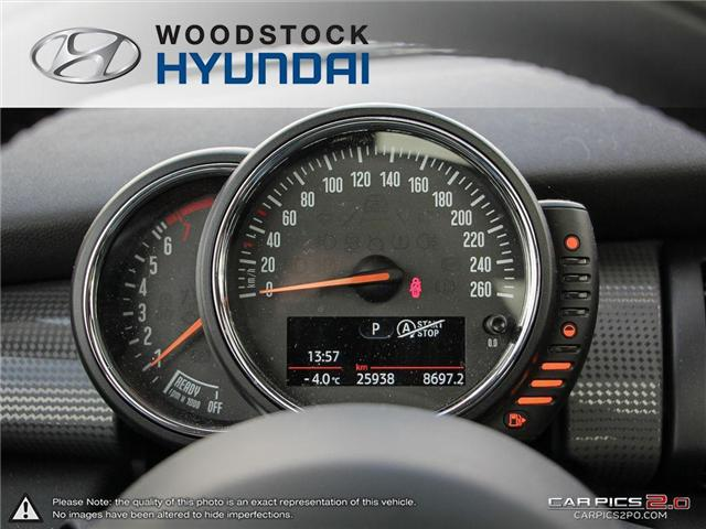 2016 MINI 3 Door Cooper (Stk: P1349) in Woodstock - Image 8 of 27