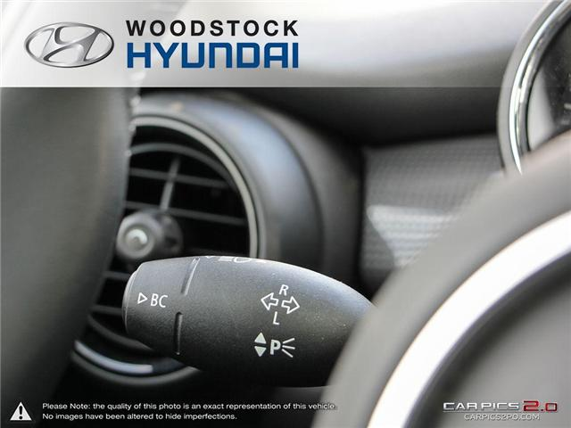 2016 MINI 3 Door Cooper (Stk: P1349) in Woodstock - Image 9 of 27