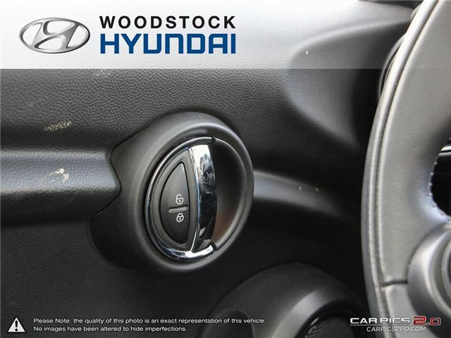 2016 MINI 3 Door Cooper (Stk: P1349) in Woodstock - Image 10 of 27
