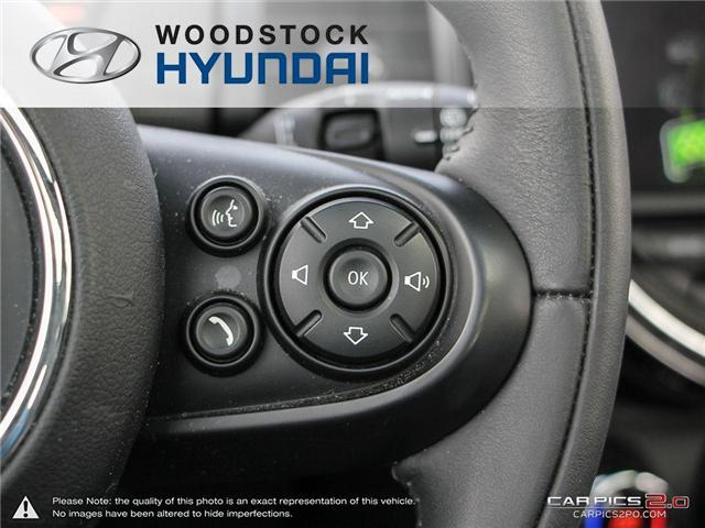 2016 MINI 3 Door Cooper (Stk: P1349) in Woodstock - Image 11 of 27