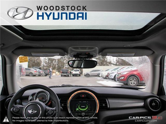 2016 MINI 3 Door Cooper (Stk: P1349) in Woodstock - Image 19 of 27