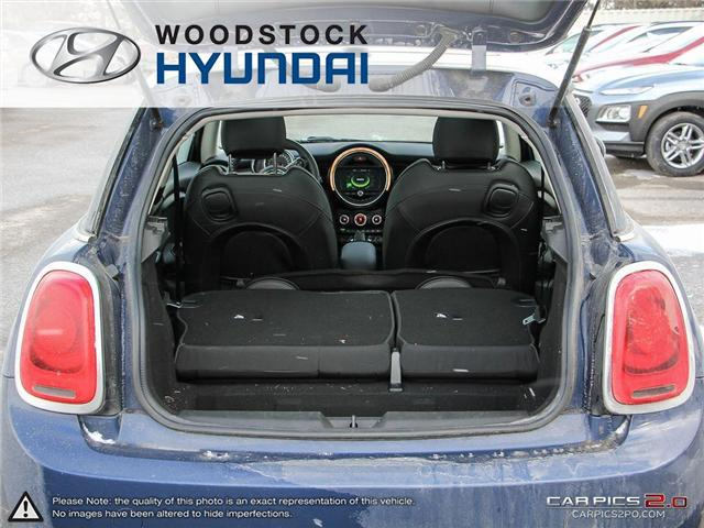 2016 MINI 3 Door Cooper (Stk: P1349) in Woodstock - Image 26 of 27