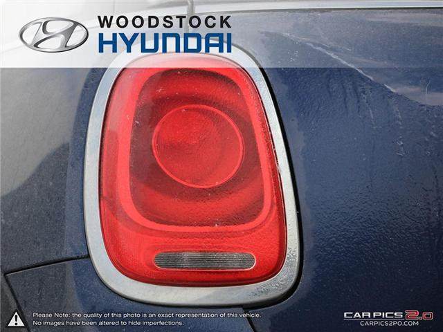 2016 MINI 3 Door Cooper (Stk: P1349) in Woodstock - Image 27 of 27