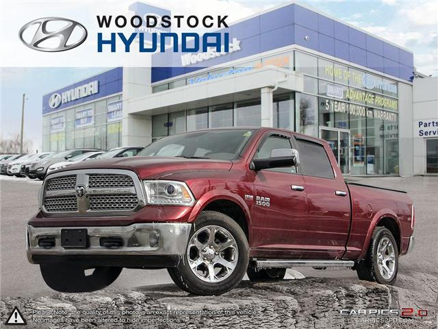 2017 RAM 1500 Laramie (Stk: P1323A) in Woodstock - Image 1 of 27
