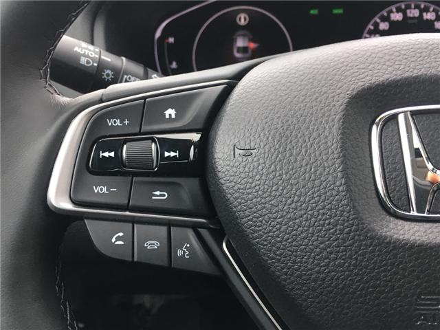 2019 Honda Accord Touring 1.5T (Stk: 19483) in Barrie - Image 10 of 13