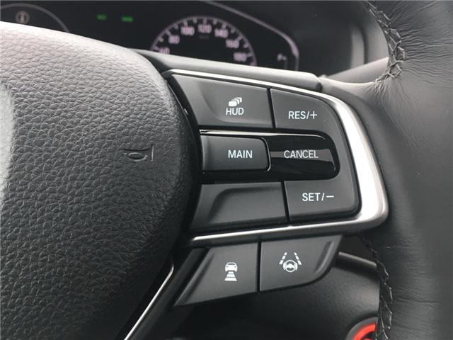 2019 Honda Accord Touring 1.5T (Stk: 19483) in Barrie - Image 11 of 13