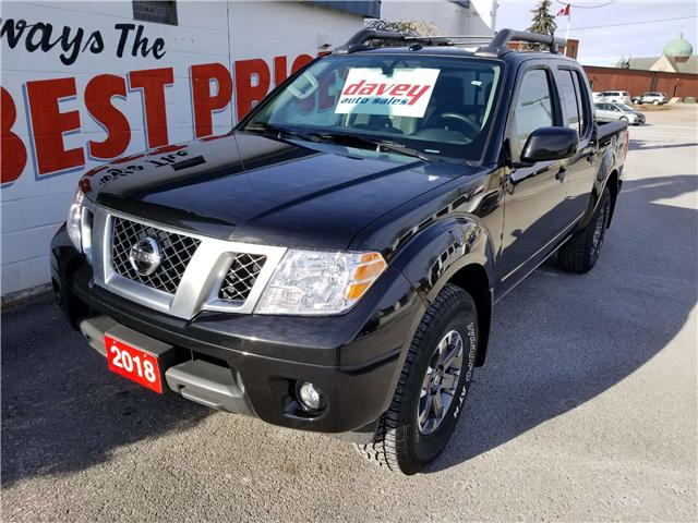 2018 Nissan Frontier PRO-4X (Stk: 19-046) in Oshawa - Image 1 of 17