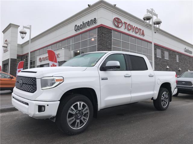 2019 Toyota Tundra Platinum 5.7L V8 (Stk: 190086) in Cochrane - Image 1 of 17
