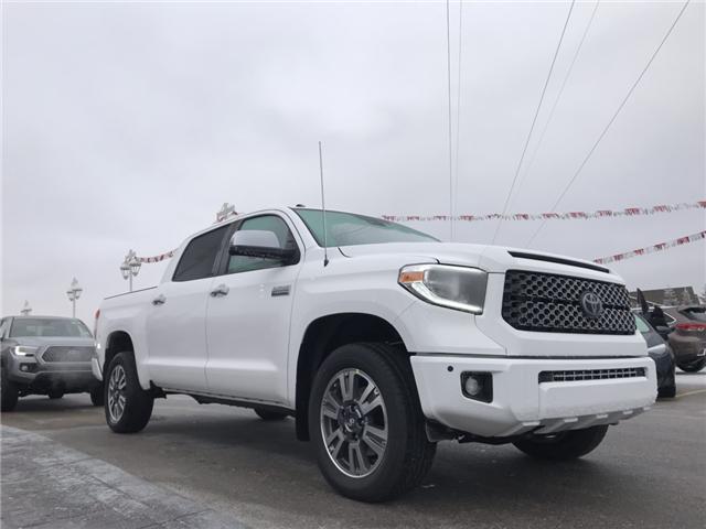 2019 Toyota Tundra Platinum 5.7L V8 (Stk: 190086) in Cochrane - Image 3 of 17