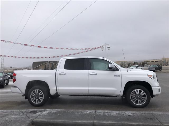 2019 Toyota Tundra Platinum 5.7L V8 (Stk: 190086) in Cochrane - Image 4 of 17