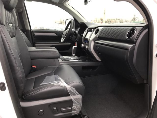 2019 Toyota Tundra Platinum 5.7L V8 (Stk: 190086) in Cochrane - Image 11 of 17