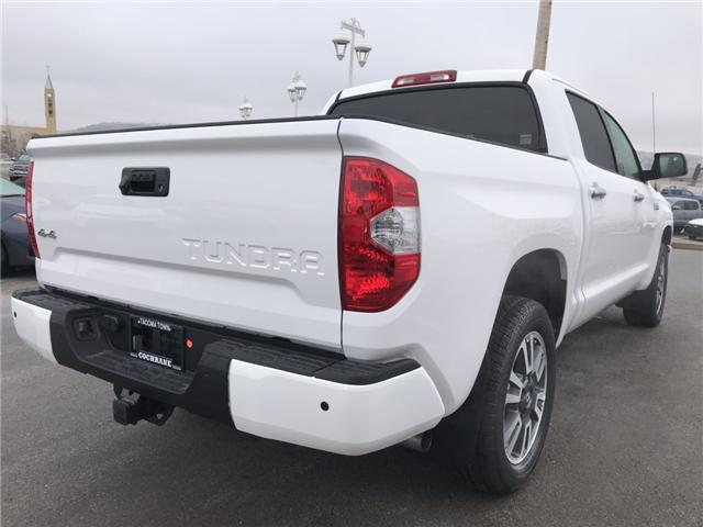 2019 Toyota Tundra Platinum 5.7L V8 (Stk: 190086) in Cochrane - Image 5 of 17