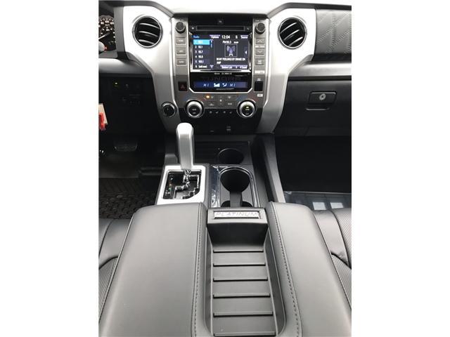 2019 Toyota Tundra Platinum 5.7L V8 (Stk: 190086) in Cochrane - Image 10 of 17
