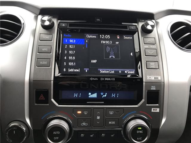 2019 Toyota Tundra Platinum 5.7L V8 (Stk: 190086) in Cochrane - Image 16 of 17