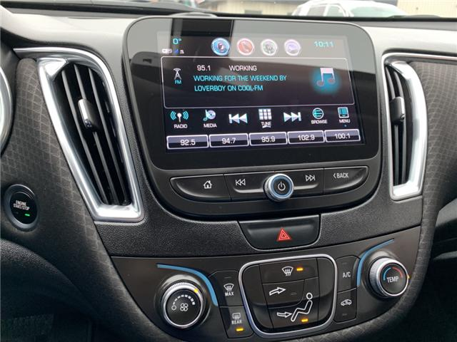 2018 Chevrolet Malibu LT (Stk: JF120585) in Sarnia - Image 17 of 19