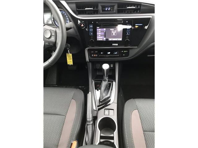 2019 Toyota Corolla LE Upgrade Package (Stk: 190076) in Cochrane - Image 9 of 16