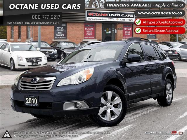 2010 Subaru Outback 3.6 R Limited Package (Stk: ) in Scarborough - Image 1 of 21