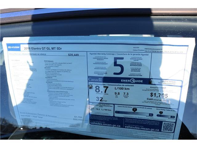 2018 Hyundai Elantra GT GL (Stk: 82144) in Saint John - Image 2 of 2