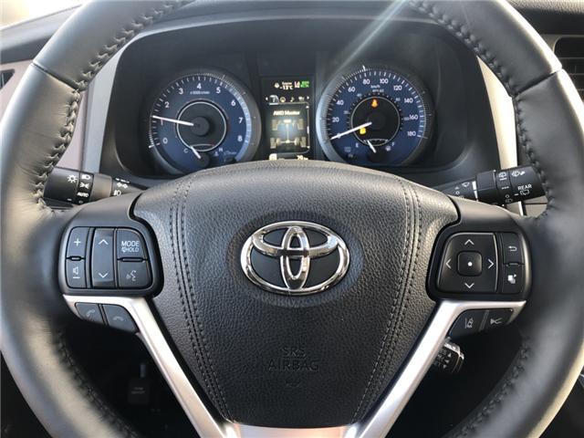 2018 Toyota Sienna XLE 7-Passenger (Stk: 180250) in Cochrane - Image 12 of 20