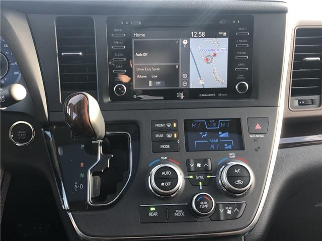 2018 Toyota Sienna XLE 7-Passenger (Stk: 180250) in Cochrane - Image 13 of 20