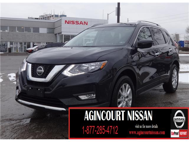 2018 Nissan Rogue SV (Stk: U12377R) in Scarborough - Image 1 of 23