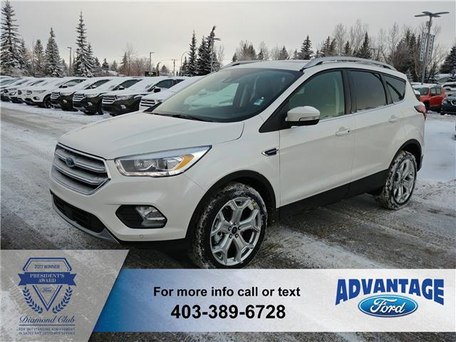 2019 Ford Escape Titanium (Stk: K-286) in Calgary - Image 1 of 6