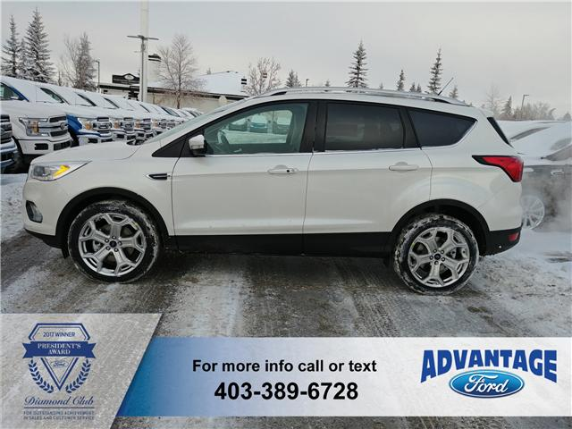 2019 Ford Escape Titanium (Stk: K-286) in Calgary - Image 2 of 6