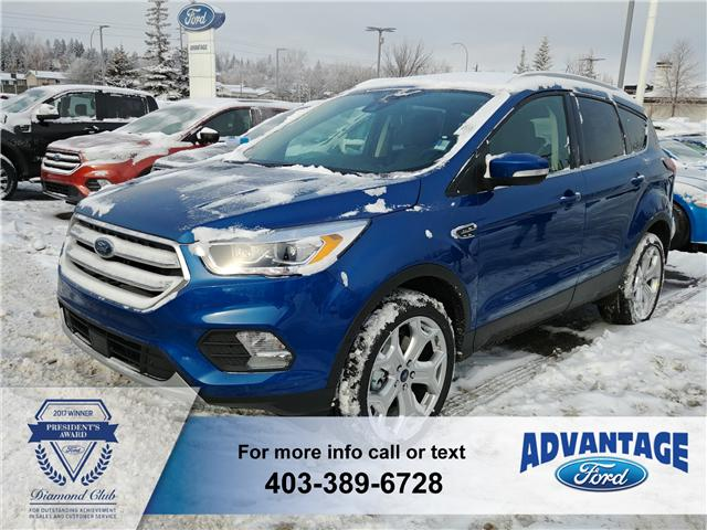 2019 Ford Escape Titanium (Stk: K-479) in Calgary - Image 1 of 5