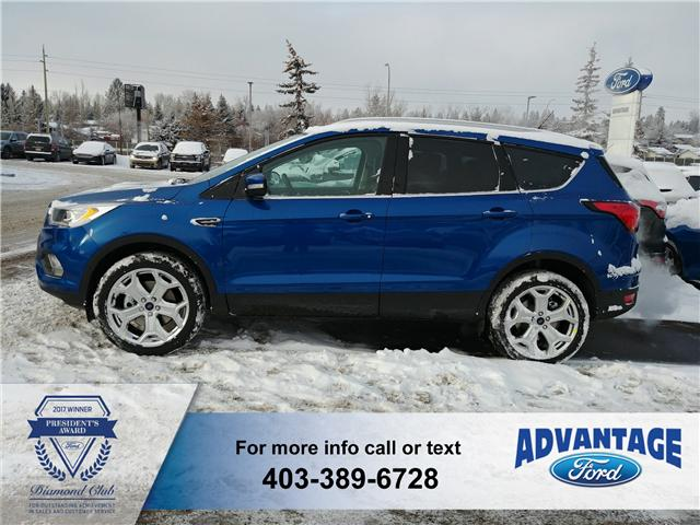 2019 Ford Escape Titanium (Stk: K-479) in Calgary - Image 2 of 5
